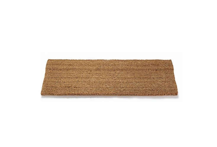 Made by German utility goods company Schär, theVelour Doormat is made of coconut from India and Sri Lanka and processed in a mill in Rhineland-Palatinate, Germany; €5