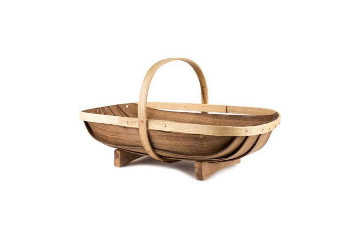 TheLarge Garden Trug in contrasting myrtle and copper nails is \$9\2.97 at Archer Hard Goods.