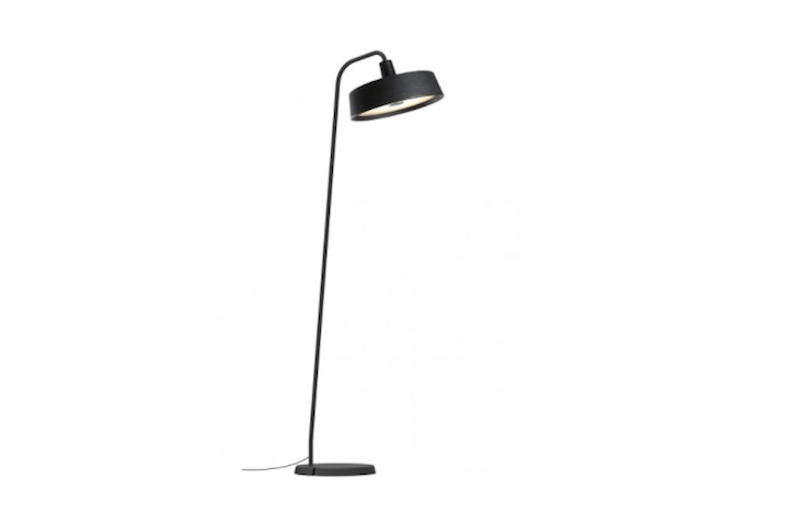 Manufactured in Spain, a Marset Outdoor Floor Lamp is suitable for use in wet locations. It takes an LED bulb and is available with shade colors including black as shown; \$\1,6\14.\15 from \2 Modern.