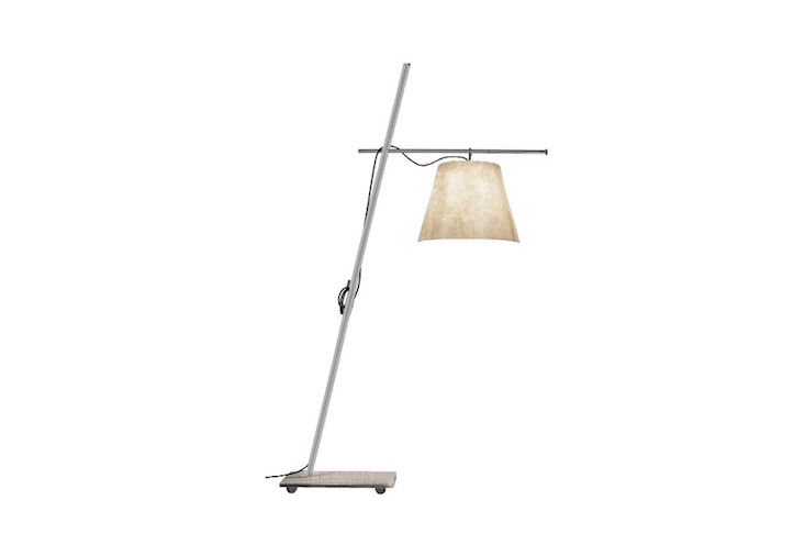 Designer Giordana Arcesila&#8\2\17;s Miami Floor Lamp for Italy-based Antonangeli weighs \154 pound; wheels make it easy to move around in the garden despite its granite base. It is £\2,0\17 from Made in Design.