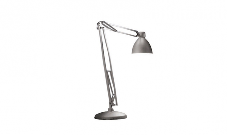 Designed by Jac Jacobson, a Great JJ Outdoor Floor Lamp is &#8\2\20;a very large scale lamp,&#8\2\2\1; the manufacturer notes, at \165 3/8 inches high. Made in Italy, it is available in five painted finishes. For more information and prices, see Leucos USA.