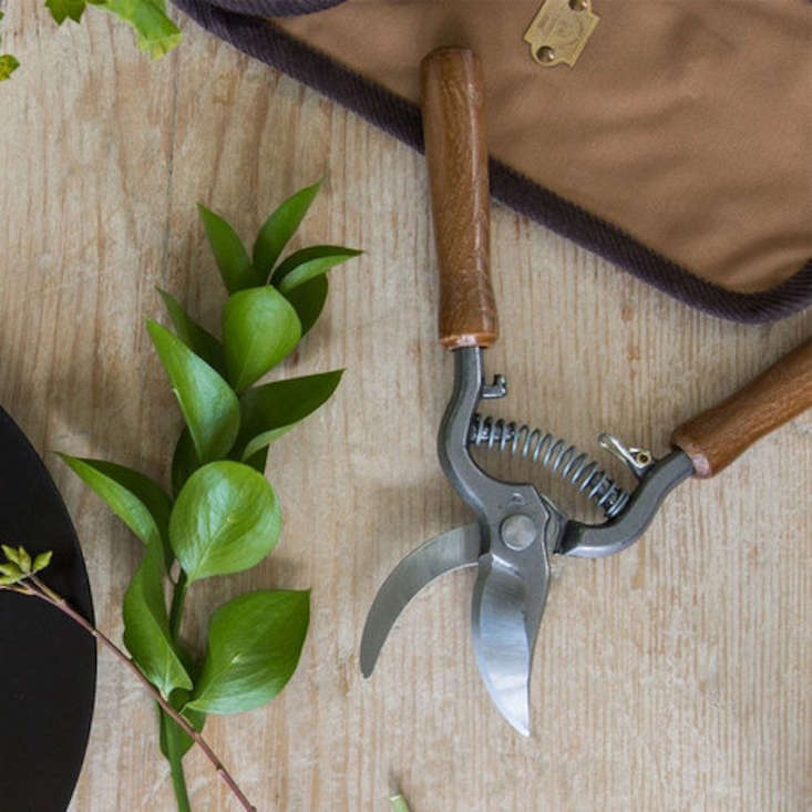 Made in France, a pair of Large Pruning Shears With Wooden Handles is $68.