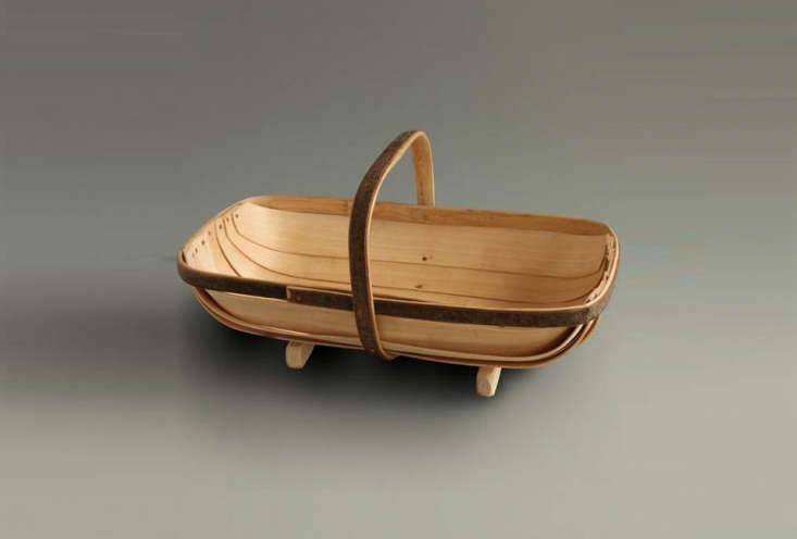 Made of chestnut and willow, the Original Sussex Trug is £78 (\$\105 USD) at Labour and Wait.