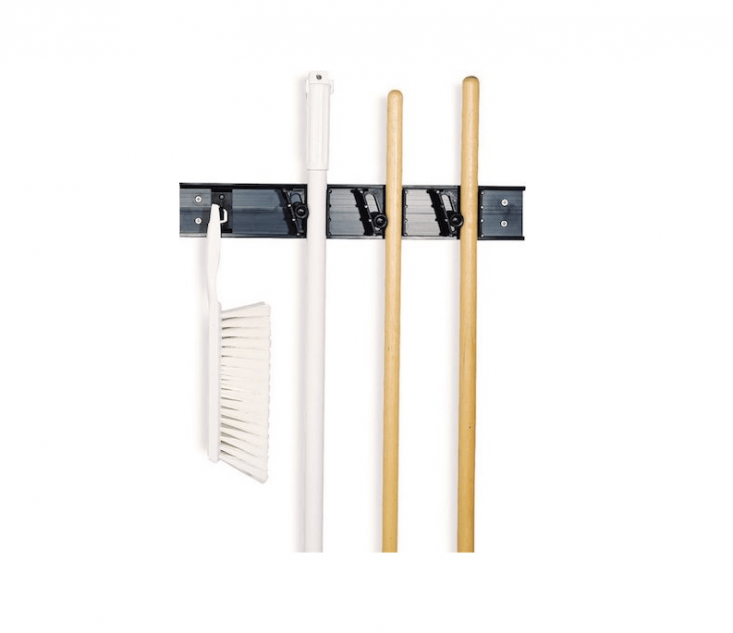 From Carlisle, a Broom And Tool Holder Storage System is $