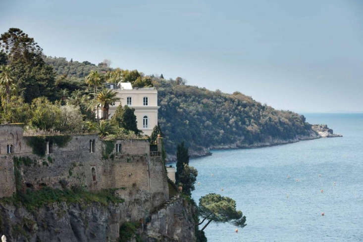 The view from the Villa Astor in Sorrento. Photograph via The Heritage Collection.