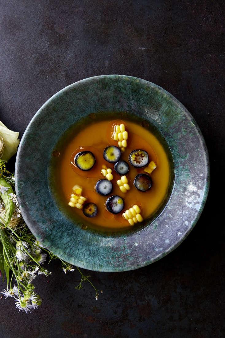 Refslund&#8\2\17;s Corn Kernel Flan, a savory summer dish.