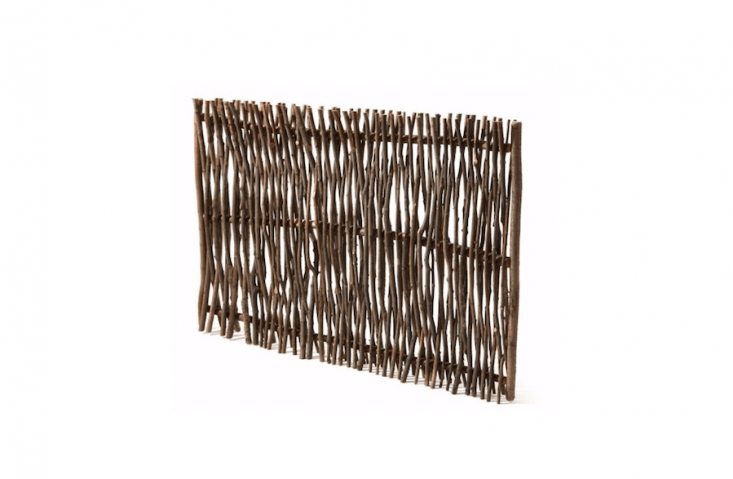 A Privacy Screen Made of Hazel Switches is €\167 from Manufactum.