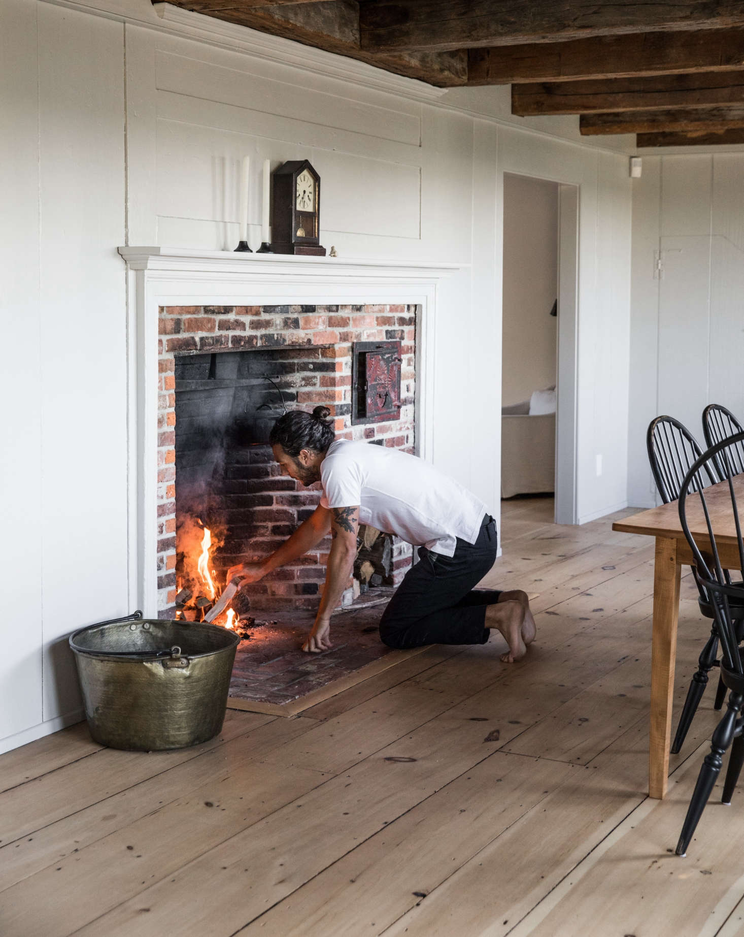 See more in The Soot House: Conjuring the Ghosts of Old New England on Spruce Head in Maine on Remodelista.Photograph byGreta Rybus.