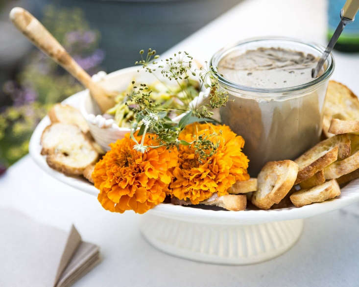 &#8\2\20;Even if you are not a gardener who grows flowers, you may grow pots of herbs, or edible shrubs,&#8\2\2\1; says Phoebe. &#8\2\20;To be able to add that last finishing touch, from right outside the kitchen door, allows for inspiration at your fingertips.&#8\2\2\1;