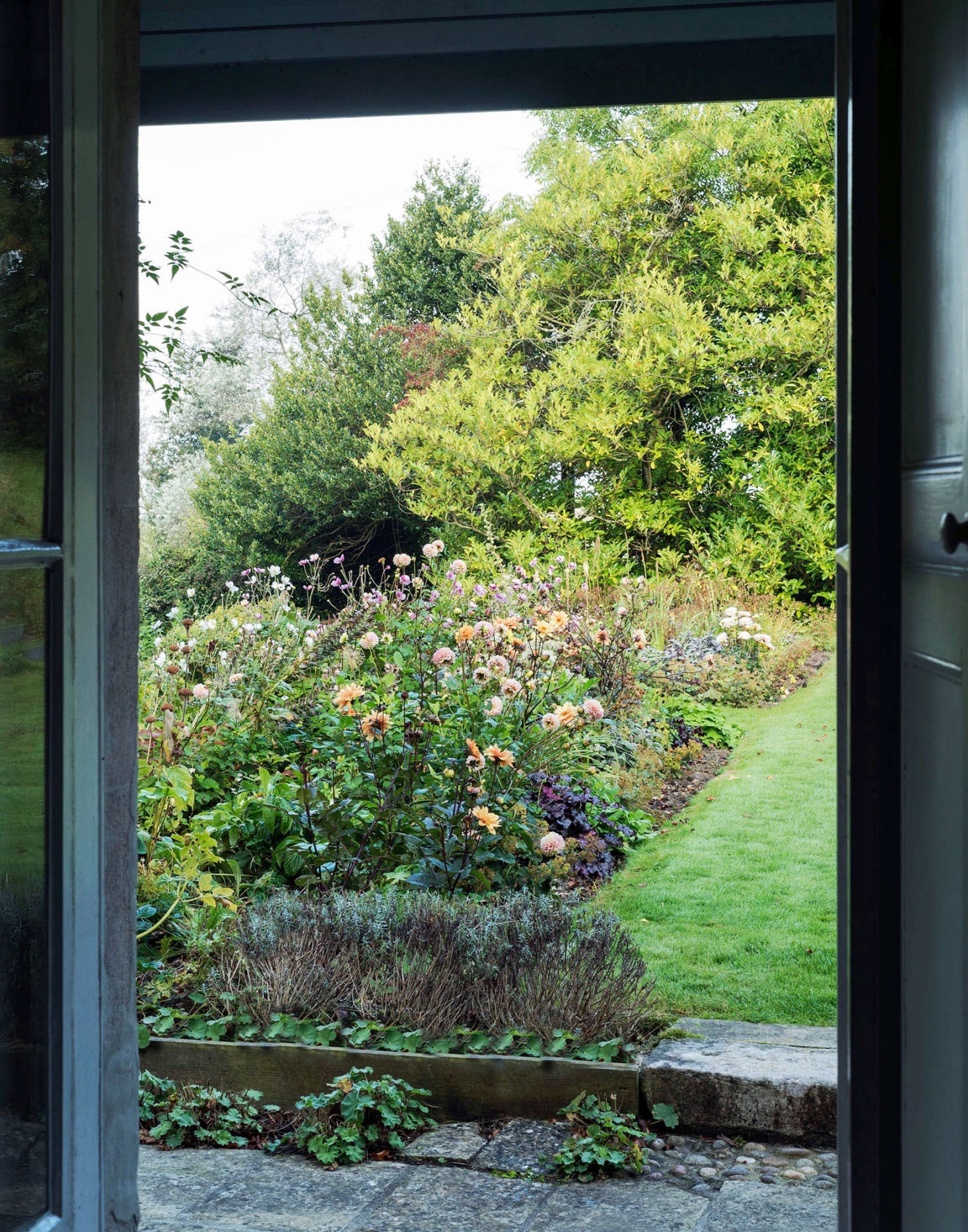 Ornamental garden beds and edible plants are equally at home in Ben Pentreath and Charlie McCormick&#8