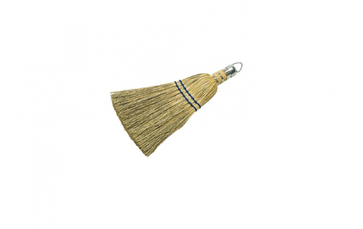 An old standby, a -inch Corn Whisk Broom with a metal loop for hanging is $5.99 from American Parts Equipment Supply.