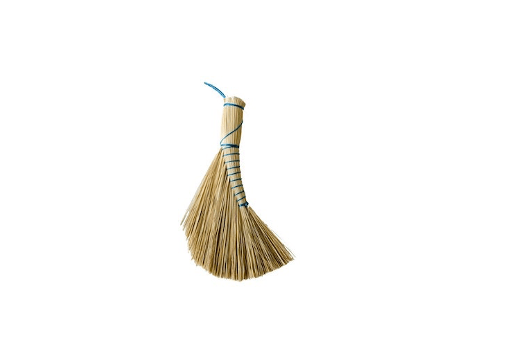 From Hungary, aDutch Brush made of rice straw and twine is $ from MÛR Lifestyle.