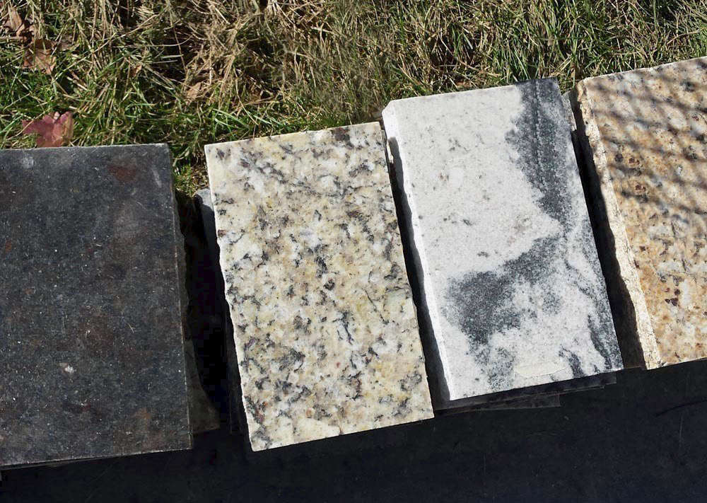 A wide selection of Granite Landscape Pavers is available at Recycled Granite St. Louis.
