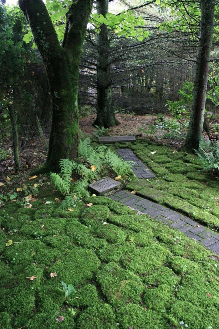 Photograph by Derek Brown. See more at The Poet and His Garden: Ian Hamilton Finlay in Scotland.