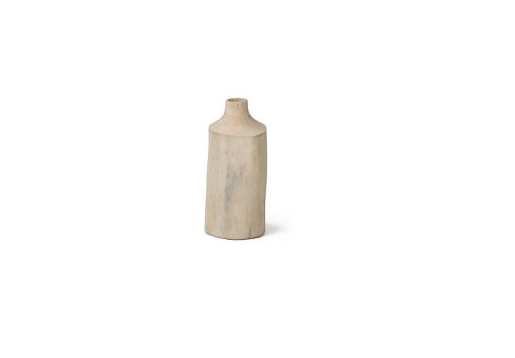 Above AMango Wood Vase is €40 from White Cactus.