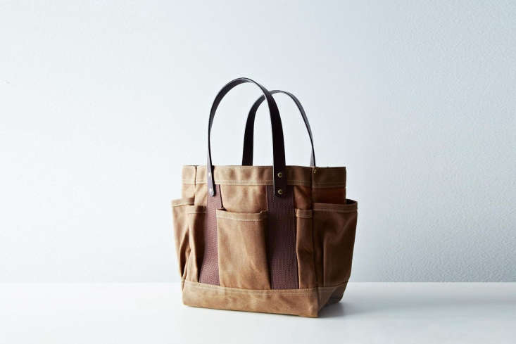 From Parrot Canvas theWaxed Tote Bag is made of waxed duck cotton inspired by traditional rigger&#8\2\17;s work bags. It&#8\2\17;s available in Navy or Rust (shown) for \$\138 at Food5\2.