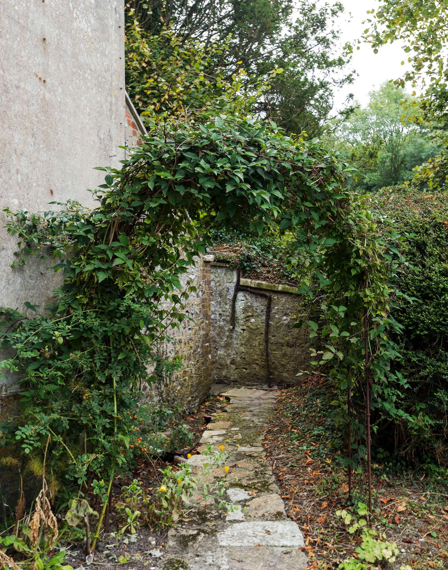 A crooked stone path beckons at the edge of Pentreath and McCormick&#8