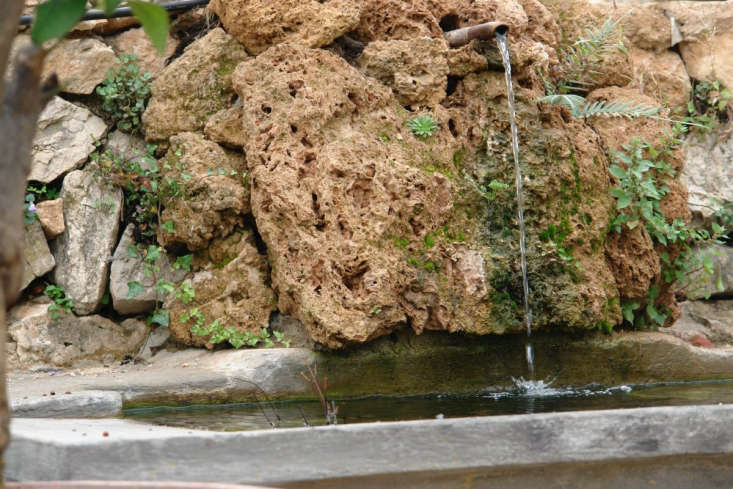 In Beaulieu-sur-Mer, Basson&#8\2\17;s brief was to create a garden would look as if it had been there for centuries. Stone fountains carry water from the top of the garden to empty into the swimming pool.