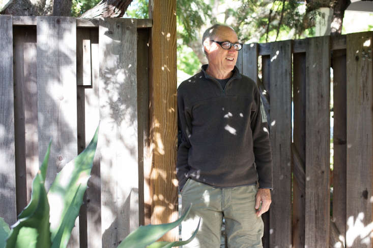 When furniture maker Clay bought the house, the garden had fallen into disrepair. He took his time restoring it: &#8