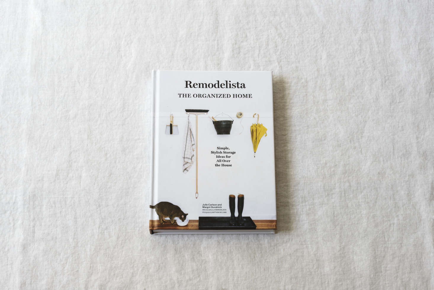 In Remodelista: The Organized Home, we present hundreds of ideas and strategies for conquering your home's problem zones (from entry to medicine cabinet to bedroom closet).