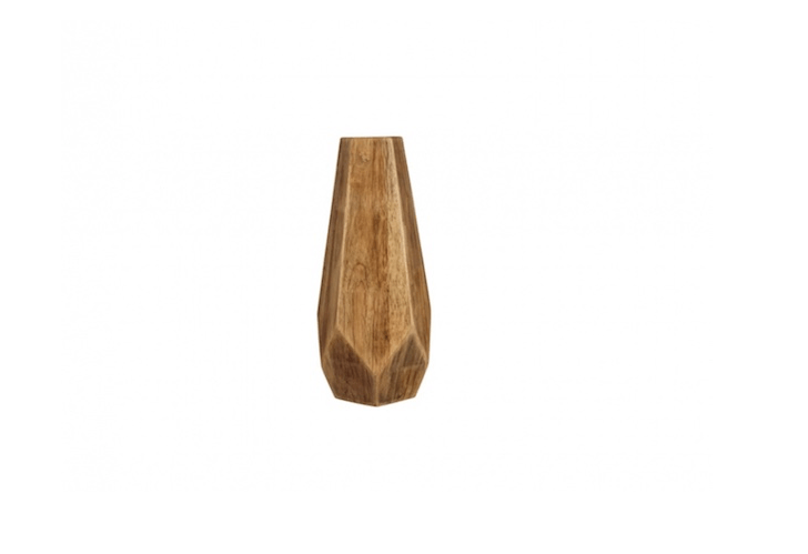 ATall Wood Table Vase is \15.\25 inches high; \$43.68 from Wayfair.