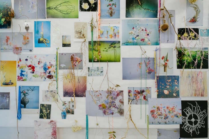 A mood board in Anne ten Donkelaar&#8
