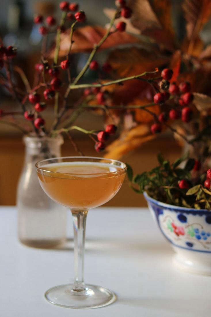 This weekend we&#8\2\17;ll be making this &#8\2\20;Dear George&#8\2\2\1; applejack cocktail and sipping it by the fire. Get the recipe (and more) in5 Irresistible Cranberry Cocktails.