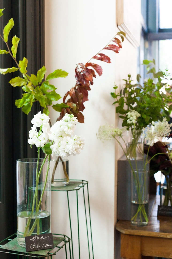 Aside from the obvious reduced environmental impact, Anderson extols the virtues of working with flowers when they&#8