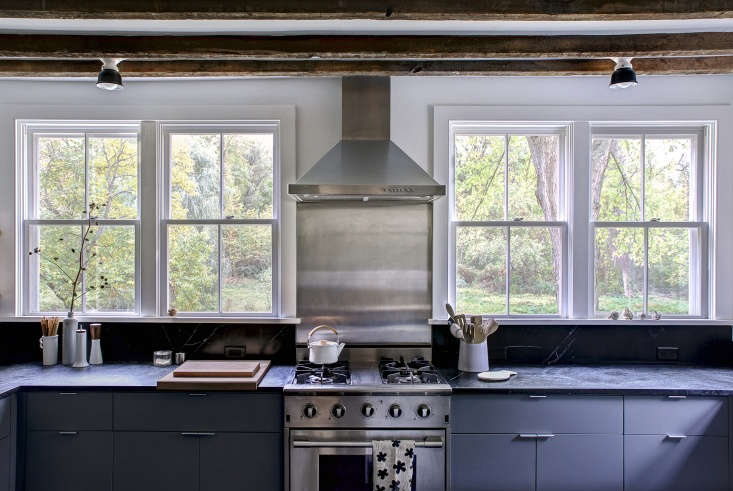 Justine revisits artist Dunja Von Stoddard's lovely \1880s farmhouse in Rhinebeck, New York in Kitchen of the Week: Hudson Valley Farmhouse Kitchen Reborn. Photograph by Justine Hand for Remodelista.