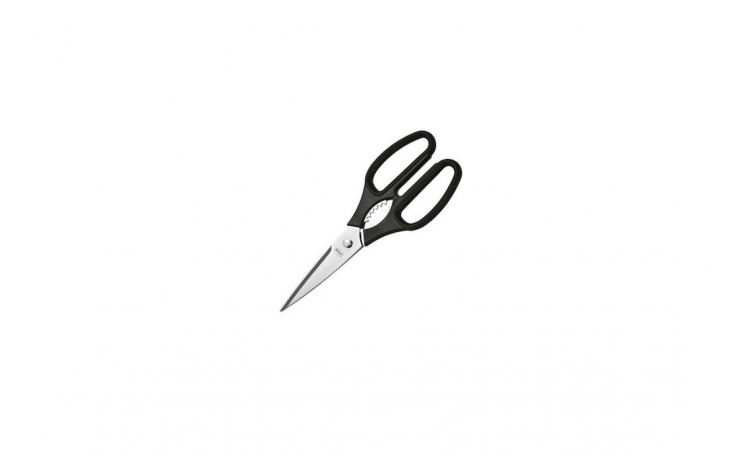 A pair of Rösle Kitchen Shears will &#8\2\20;easily slice ribbons of herbs, cut butcher's twine or open food packages,&#8\2\2\1; says retailer Sur La Table. A pair is \$40.