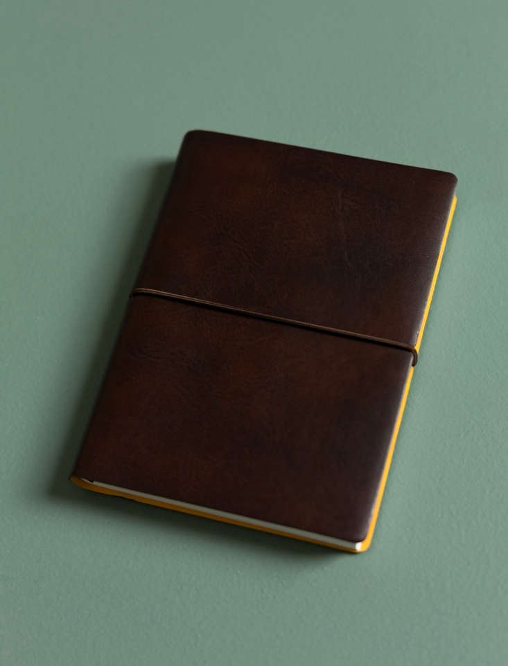 Made by Ciak, a Large Italian Notebook has ruled pages made of recycled paper and a &#8\2\20;leather-like bonded soft cover with beautiful contrast inner cover,&#8\2\2\1; notes retailer Everyday Needs. It is \$35 NZD (about \$\24 US).