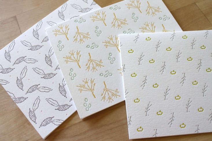 letterpress thoreau cards moontree