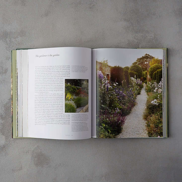 A hardcover copy of The Thoughtful Gardener by Jinny Blom is $50 at Terrain.