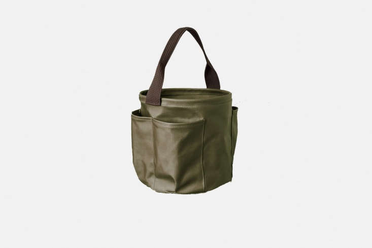 A collaboration between New Zealand home goods shop Everyday Needs and bag designers Deadly Ponies, theGarden Bagis made of waxed cotton; $loading=