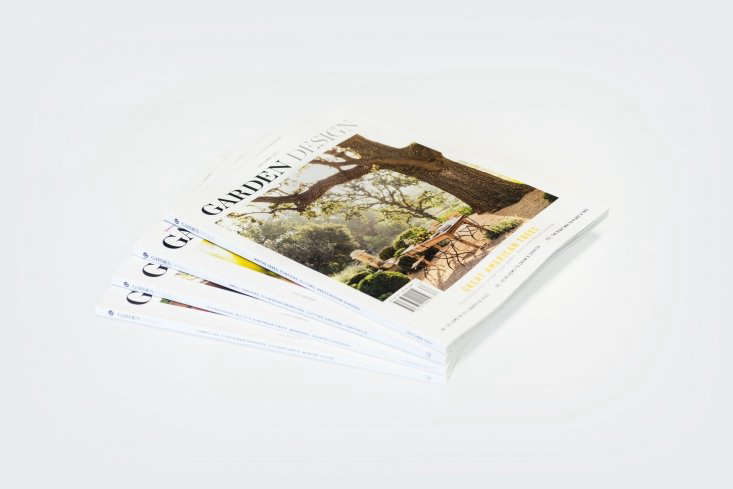 Give a subscription to our favorite quarterly garden magazine, Garden Design. Gardenista readers will get five issues for the price of four with aSubscription ($45).