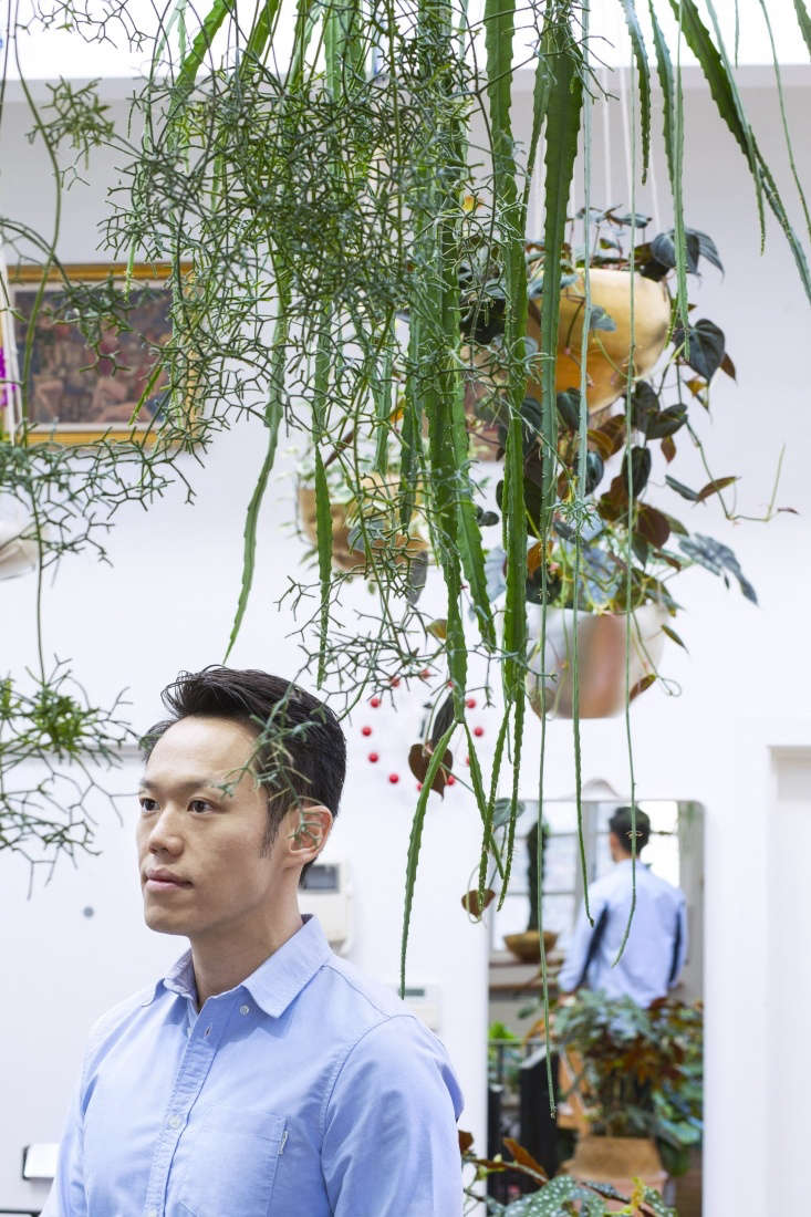 Song, whose Instagram profile states he&#8\2\17;s &#8\2\20;a plant hoarder in the modern bohemian world,&#8\2\2\1; moved into his airy apartment four years ago.