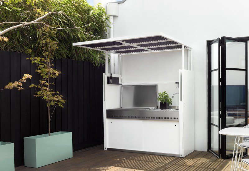 The Tilt outdoor kitchen by Tait.