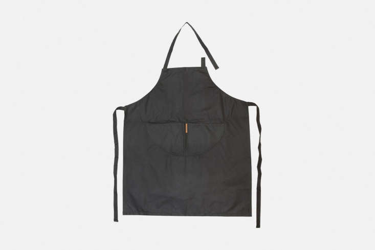 Norfolk-based Carrier Company makes one of our favorite garden aprons, the Waterproof Oilskin Apron (&#8