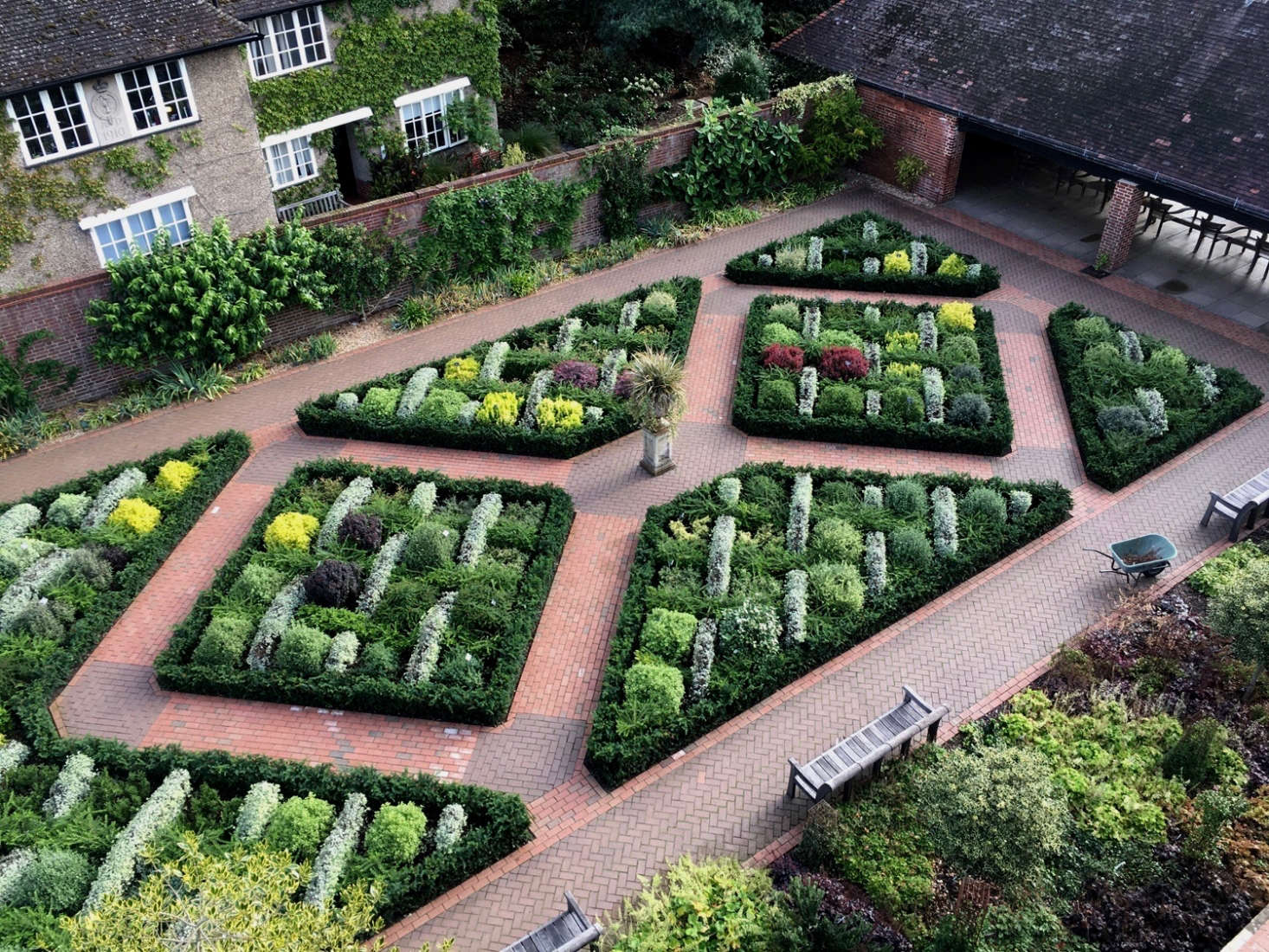 The trial garden shimmering in August. Photograph by Sean McDill courtesy of Royal Horticultural Society.