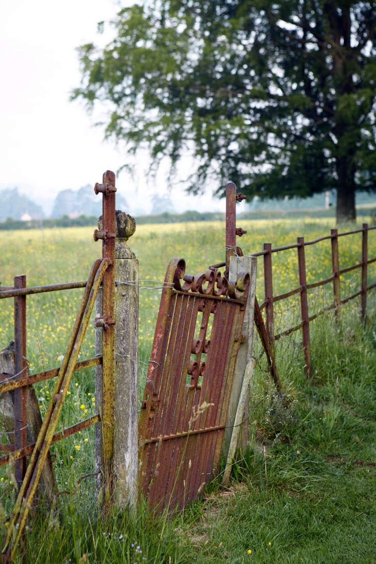 The perfection of imperfection; this wabi-sabi gate exudes strength through fragility.