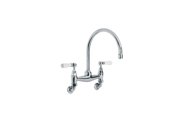 In this week&#8\2\17;s \10 Easy Pieces post, Alexa is channeling &#8\2\20;a commercial kitchen or laboratory with an industrial-looking, wall-mounted kitchen faucet.&#8\2\2\1;