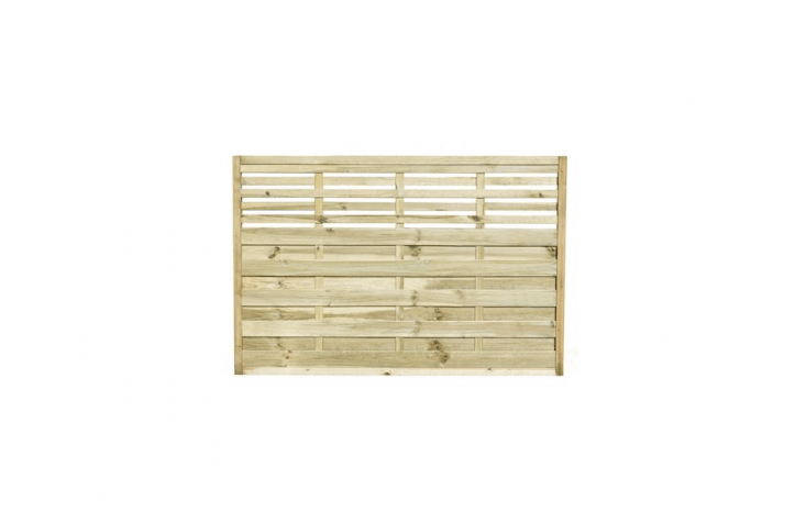 A pack of sevenForest Kyoto Fence Panels made of mixed softwoods is £399.99 from Homebase.