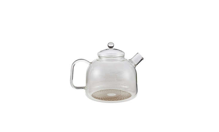This Transparent Teapot is made in Germany and holds a generous 60 fluid ounces. It&#8