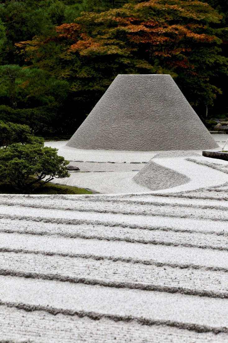 At the Ginkaku-ji Zen garden in Kyoto. Photograph by Kimon Berlin via Flickr.