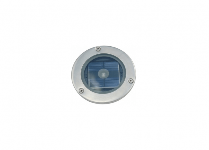 A Solar Round Decking Light creates a halo effect; £85.99 from Exterior Lights UK.
