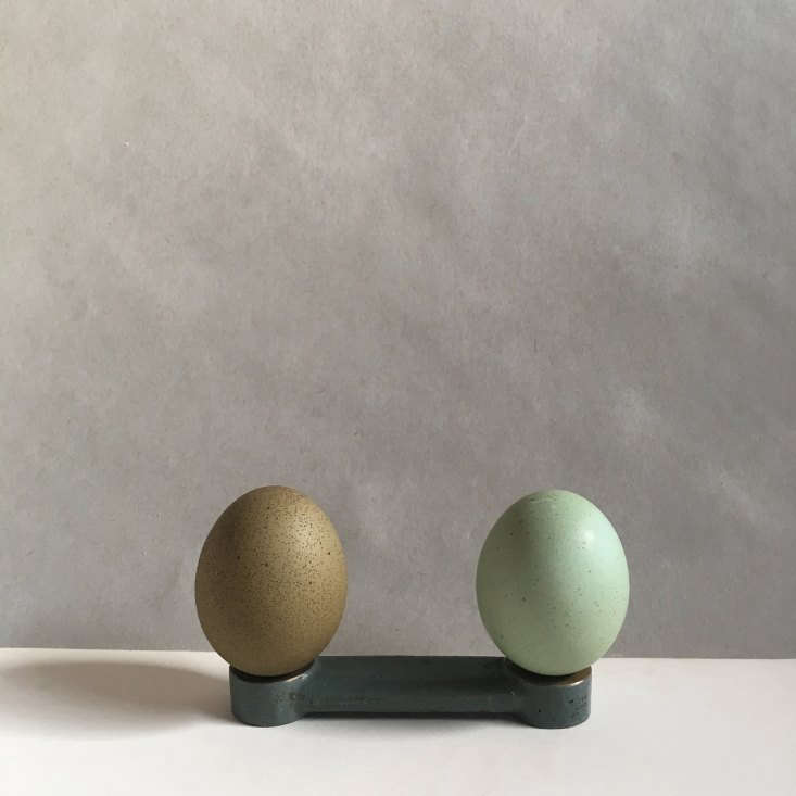 The farm&#8\2\17;s green eggs come in two tones: &#8\2\20;true olive&#8\2\2\1; and &#8\2\20;minty.&#8\2\2\1; They&#8\2\17;re bred mostly from Marans and Araucana crossbreeds. Alas, the different colors don&#8\2\17;t produce different flavors, but the eggs themselves are pasture-fresh and meant to be eaten—though, Delphia admits, often people find them too pretty to crack.