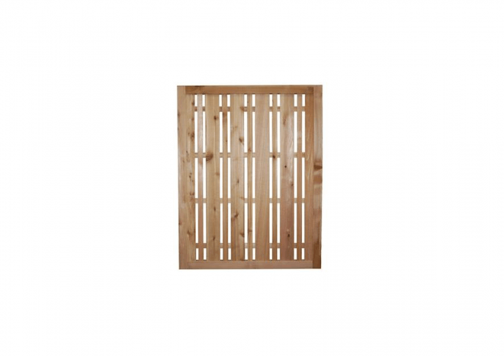 AWestern Red Cedar Horizontal Lattice Fence Panel is resistant to rot, decay, and insects. It is three feet high and