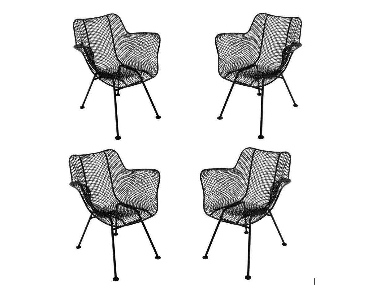 A set of 4 vintage Sculptura Chairs is $