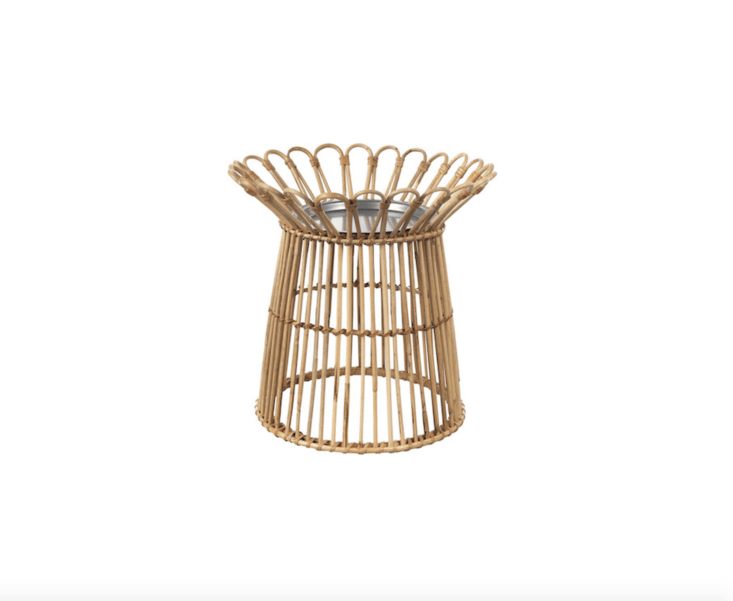 Already available in Australia, a rattan Kanelstång Plant Stand is $.99 AUD.