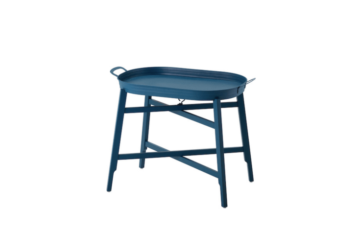 Already in stock in Iceland, aFridafors Tray Table is 6,950 kr ($70.47 USD).